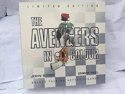 The Avengers - John Steed And Emma Peel Figures In Boxed Set