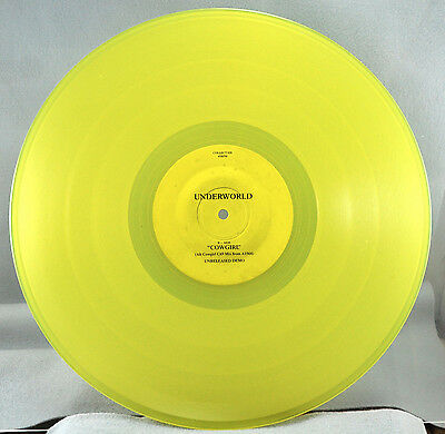 "Underworld - Rezcowgirl  Transyellow 12"" Vinyl Ltd. To 1,000 - Collect 020"