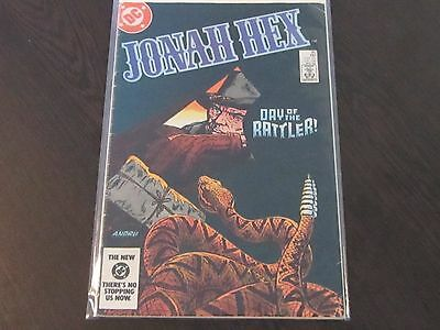 Jonah Hex Issue #80 DC 1984 Day of the Rattler
