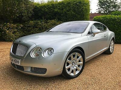 """Bentley Continental 6.0 Gt Auto 58,000 Miles  Pack 19 """"alloys"""