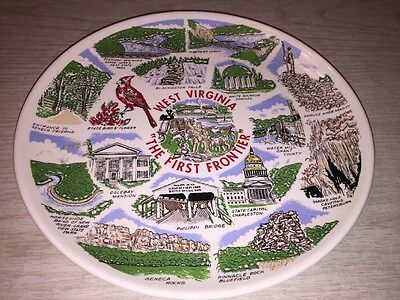 """West Virginia: """"The First Frontier"""" Collector Plate"""