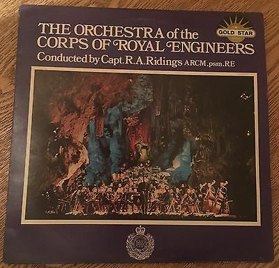 The Orchestra Of The Corps Of Royal Engineers- Vinyl Record Album