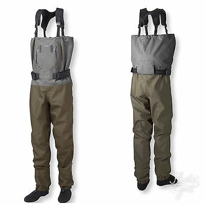 L.L. Bean Kennebec Waders with Superseam Technology, Stocking-Foot Medium