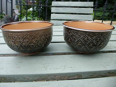 A pair of DOULTON LAMBETH bowls in immaculate condition