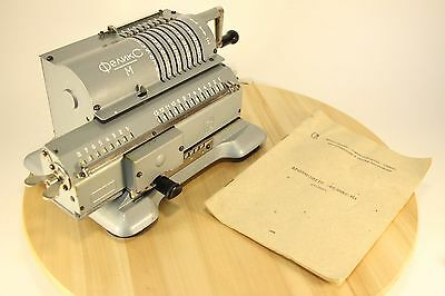 NEW!!! Mechanical Calculator Felix Arithmometer Vintage Adding Machine Works!