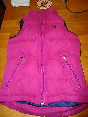 Tagg purple gilet child s/m