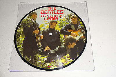 "The Beatles Paperback Writer 1986 Parlophone Uk 7"" Picture Disc"