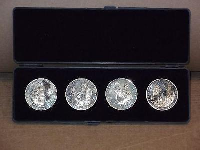 Russia (USSR) Commemorative Proof Coins, Set of 4 Medals, #128