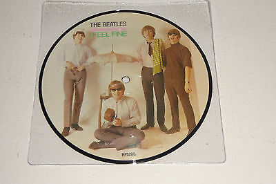 "The Beatles I Feel Fine 1984 Parlophone Uk 7"" Picture Disc"