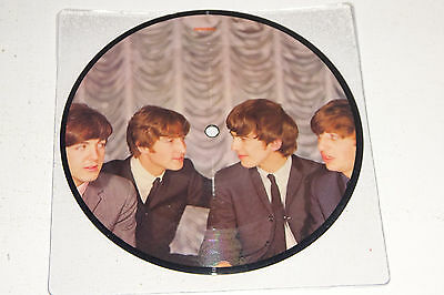 "The Beatles I Want To Hold Your Hand 1983 Parlophone Uk 7"" Picture Disc"