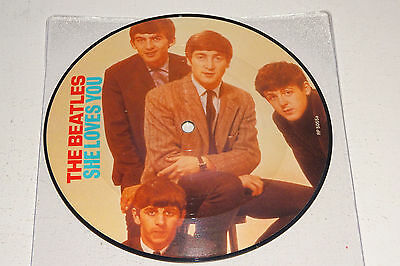 "The Beatles She Loves You 1982 Parlophone Uk 7"" Picture Disc"