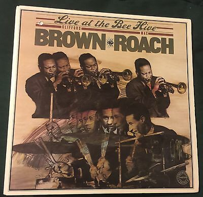 CLIFFORD BROWN MAX ROACH Live At The Bee Hive dbl LP Columbia