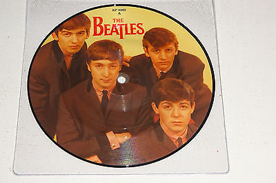 "The Beatles Love Me Do 1982 Parlophone Uk 7"" Picture Disc"