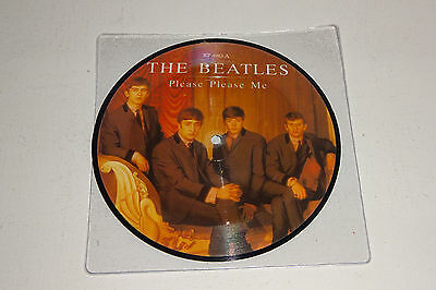 "The Beatles Please Please Me 1983 Parlophone Uk 7"" Picture Disc"