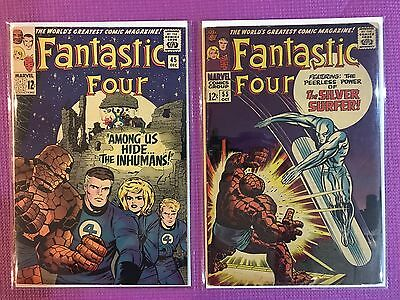 Lot of 28 Silver age Fantastic Four Comics - Inhumans and Black Panther