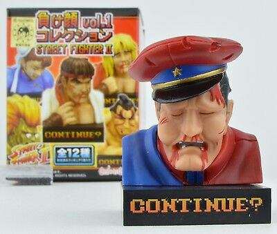 Street Fighter 2 Vol. 1 Defeated Faces Mini-Figure - M. Bison