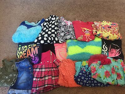Girls Clothing Lot Size 6,7,8 Mixed Item Lot Justice Children's Place Gymboree