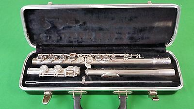 VTG Selmer Signet Special Coin Silver Flute Case Made in USA 24785