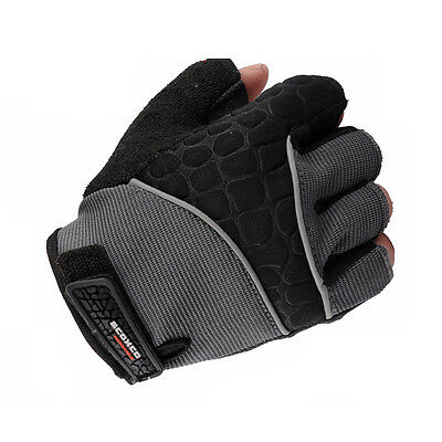 Outdoor Sports Half Finger Fitness Cycling Riding Motorcycle Men Boy Gloves New