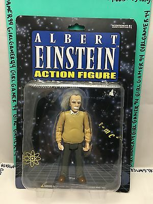 Albert Einstein Science Action Figure, Physicist: By Accoutrements - 2003 - New!