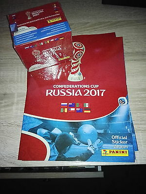 Confederations Cup Russia 2017 Panini Empty Album + 50 packets
