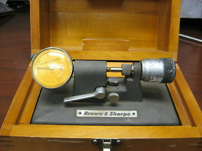 """B & S- Bench Micrometer/comparator-Model 245(0- 0.5"""")10"""