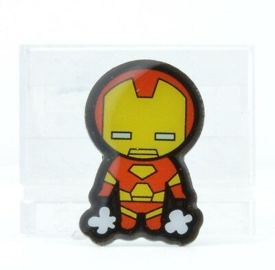 Marvel Collectible 1-Inch Kawaii Style Metal Lapel Pin - Iron Man