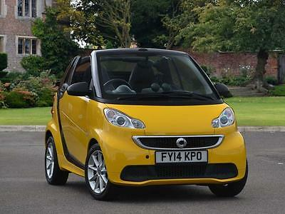Smart Fortwo Cabrio 2014 Passion mhd 2dr Softouch Auto (2010) Hatchback