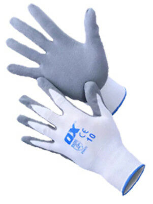 OX Nylon Lined Nitrile Gloves - tilers tiling tools