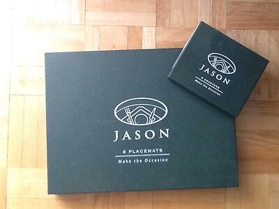 Jason Cork Backed Placemats 6 Coasters 6 French Cafés And Restaurants