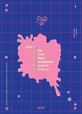 APINK - Pink Up (6th Mini Album) [B ver.] CD+Folded Poster+Free Gift+Tracking no