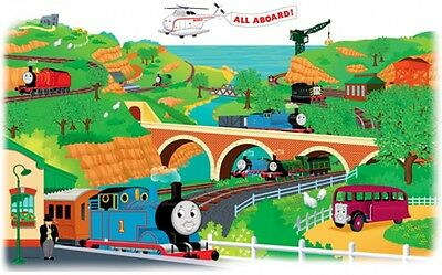 Thomas The Train Removable Peel-Able Giant Decal Stickers Kids Bedroom Wall Art