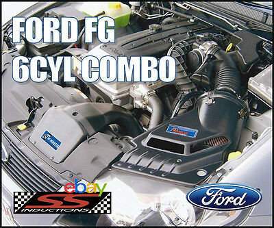 Ford Fg 6Cyl Growler Combo - Ss Inductions Growler Cold Air Induction