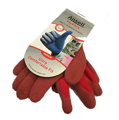 ANSELL Hyflex Gloves - Medium - tilers tiling tools