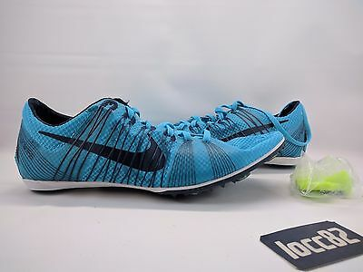 Nike Men's Zoom Victory 2 Flywire sz 12 555365 441 teal track field distance run