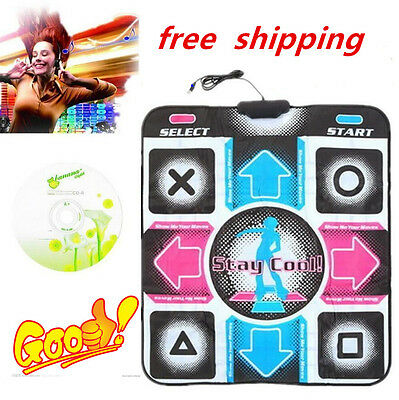 Non-Slip Dancing Step Dance Mat Pad Pads Dancer Blanket to PC with USB New #S