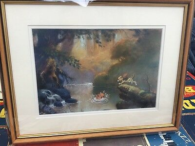 fox and the hound art print concept art for the movie