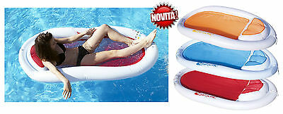 Mattress Sea Sofa Inflatable Swimming Pool Hammock Relaxation With Net