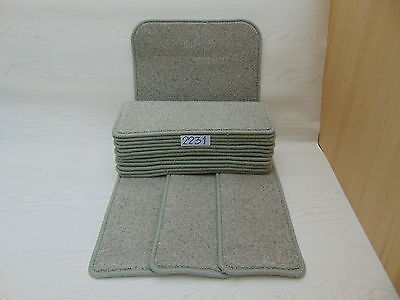 Carpet Stair pads treads 50cm x 20cm 15 off and 76 cm x 46 cm 1 Big Mats 2231-2