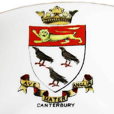 A Foley ... Shelley... Teacup & Saucer with Canterbury crest