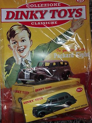 PACKARD EIGHT SEDAN (#39 A)- DINKY TOYS norev-atlas mattel SCALA 1-43