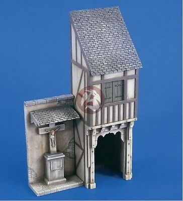 Verlinden 1/35 2217 German Timber Frame House with Drive Through