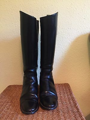 Size 6 XW Hawkins Long Leather Riding Boots