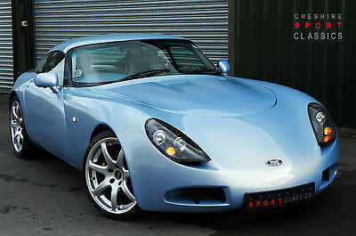 TVR T350C Coupe, 3.6 Speed-Six, Topaz, 15,000 miles, 1 owner, FSH, Immaculate