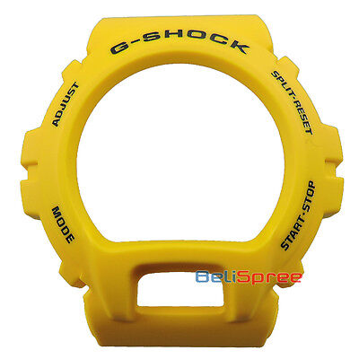 G-Shock GD-X6930E-9 30th Anniversary Lightning Yellow Resin Bezel Replacement