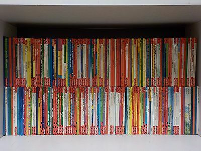 Huge Job Lot of Gloss Cover Ladybird Books - 195 Books Collection! (ID:47804)