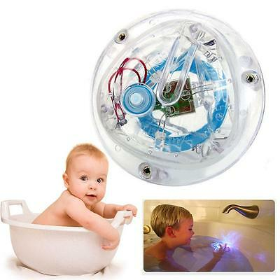 Kids Toy Bath Water LED Light Waterproof Children Funny Toys In The Tub HOT KSKS