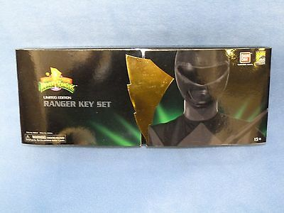 SDCC Exclusive Mighty Morphin' Power Rangers Metallic Ranger Keys set new