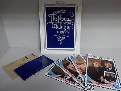The Royal Wedding 1986 Stamp Collection (Stamp Centre) (ID:658)