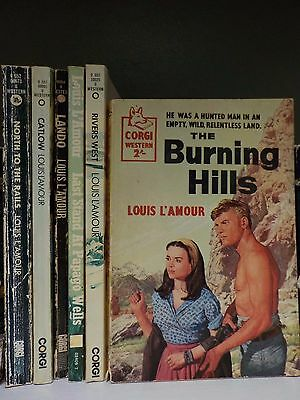 Louis L'Amour (western) - 6 Books Collection! (ID:47829)